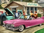 The Pink Caddy F1C