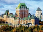 The Chateau Frontenac, Canada