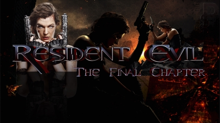 Resident Evil Final Chapter Working Progress Actresses