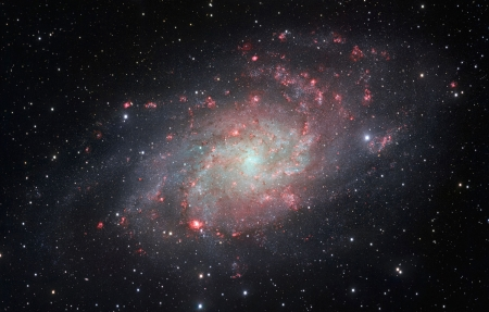 Messier 33, The Triangulum Galaxy - ESO Paranal Observatory, Chile, Triangulum Galaxy, Messier 33, VLT Survey Telescope