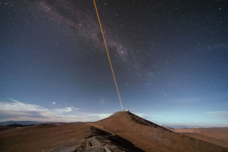 Cutting through the atmosphere - Scientific solution, VLT, Astronomy, 4 Laser Guide Star Facility