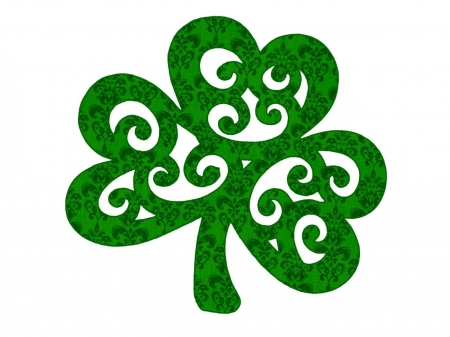 irish clover - irish, luck, clover, shamrock