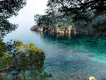 Beautiful bay on the Costa Brava, Spain