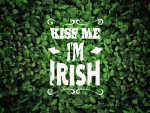 kiss me i,m irish