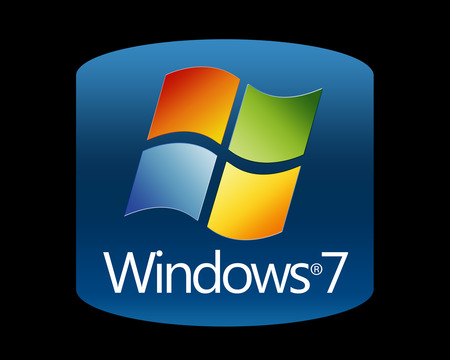 Wallpaper 150 - Windows 7 - windows logo, 7, microsoft, abstract, windows, cool, logo, windows 7, seven, blue