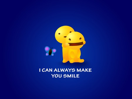 I Can Always Make You Smile 3d And Cg Abstract Background