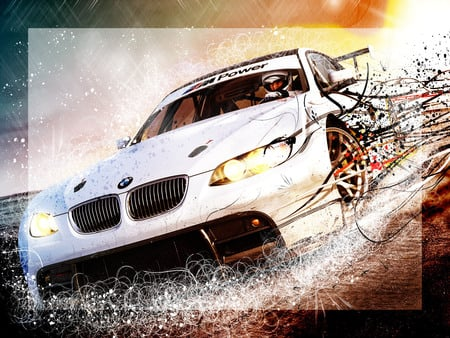 need for speed shift boom! bmw! - bmw, car, need for speed, game, nfs, shift