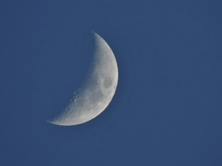 Shooting For The Moon - Photography, Moon, Sky, Space