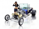 Hot Rod V8 Ford