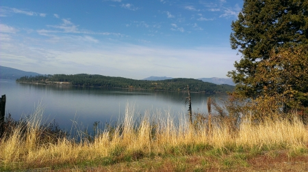 Lake Pend Oreille, Idaho - Nature, Lakes, Water, Mountains