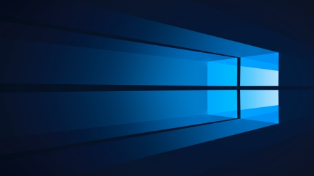 Flat Windows 10 - Windows 10, Flat, Dark Blue, Blue, Windows