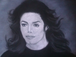 Michael Drawing Stranger In Moscow