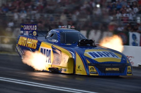 2016 Nhra Funny Car Champion   (  Ron Capps) - Napa, Track, Race, Flames