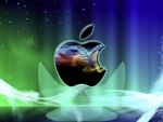Colorful apple design
