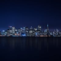 San Francisco Evening Skyline