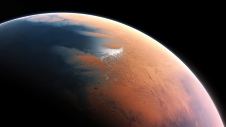 Mars 2.0 - planets, water, mars, 3d, space