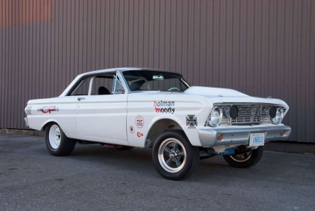 1964 Ford Falcon Street Shaker Prowls the Streets of London, Ontario, Canada - Muscle, Ford, White, Classic
