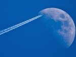 Flight to the moon