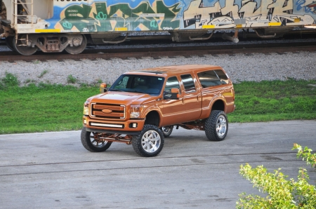 Caramel Bronze 2013 Ford F-250 - 2013, Ford, Lift, Bronze