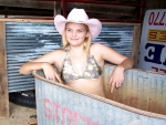 Cowgirl In A Tub..