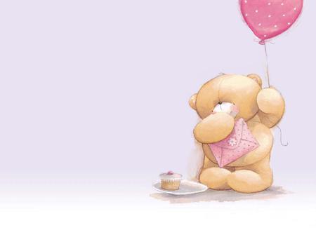 baby bear cartoon wallpaper - bear, abstract, cartoon, cute, cool, entertainment