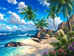 Summer Tropical Paradise