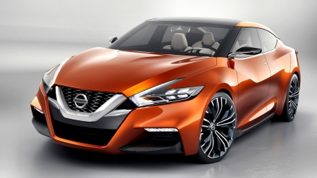 2014 Nissan Sport Sedan Concept F - photo, beautiful, Nissan, cars, photography, concept, automobile, auto, wide screen