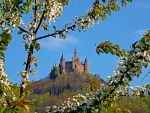 Castle Hohenzollern in Spring