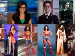 Robin Meade and Lynda Carter - Wonder Women
