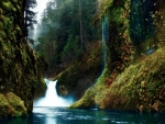 Punch Bowl Falls in Oregon