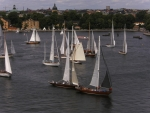Sailboats in Stockholm