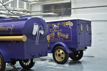 Purple Cadbury Chocolate Trucks - purple trucks, old purple trucks, cadbury, cadbury chocolate, trucks