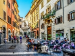 Small Square in Rome