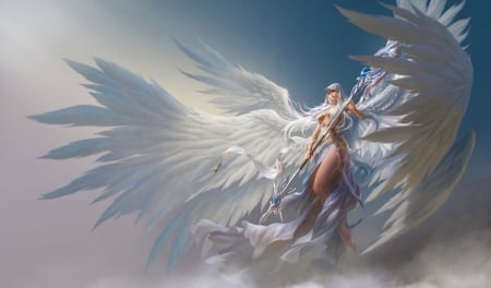 00842831f Guardian Angel - Fantasy & Abstract Background Wallpapers on Desktop ...