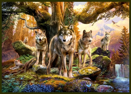 Wolfpack Other Abstract Background Wallpapers On Desktop Nexus Image 2248552