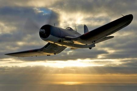 F4U Corsair - Antique & Aircraft