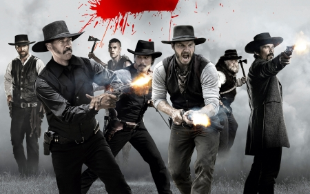 the magnificent seven - seven, gun, magnificent, cowboy