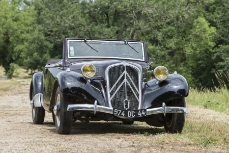 citreon 11bn traction avant cabriolet roadster - cabriolet, traction, citreon, avant, roadster