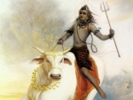 Shiva with Nandi