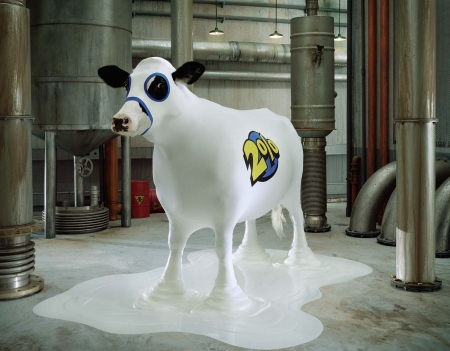 2percent - cow, glen wexler, vaca, funny, white, animal