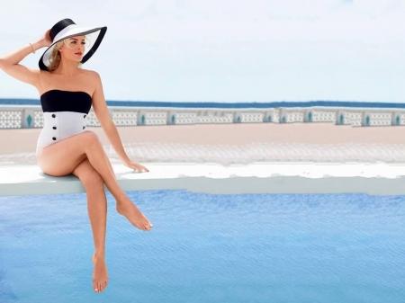 Margot Robbie Actresses People Background Wallpapers On Desktop