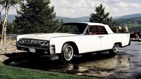 Lincoln Continental Convertble 1964 - Old-Timer, Convertible, Car, Continental, Lincoln