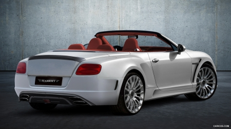 2012 Mansory Bentley Continental GTC LE MANSORY II - GTC, Tuned, Car, Bentley, Mansory, Continental, Tuning
