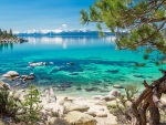 Clear Water at Lake Tahoe, California