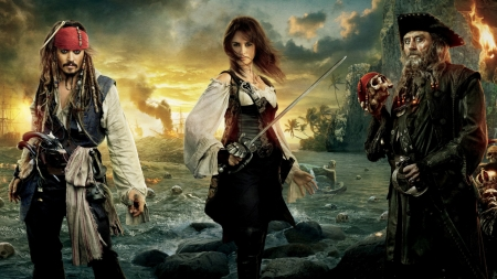 Pirates Of The Caribbean On Stranger Tides 2011 Movies Entertainment Background Wallpapers On Desktop Nexus Image 2254761