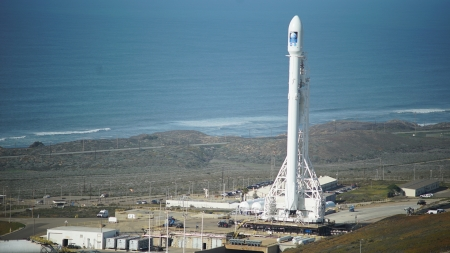 SpaceX Falcon 9 - Rocket, Falcon, SpaceX, Platform, Space