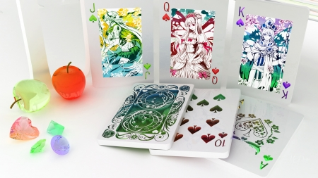Its in the Cards - king, joker, queen, decoratins, playing cards, jack, poker, 10, Firefox Persona theme