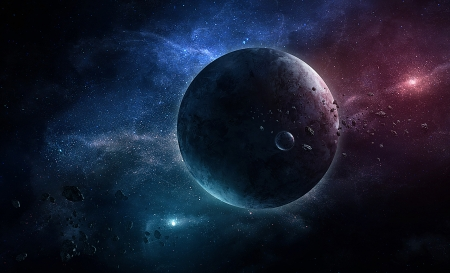 Space - cosmos, moons, stars, planets, universe, sapce, galaxy