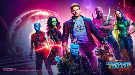 Guardians of the Galaxy Vol. 2 - Star Wars, Iron Man, Thor, The Advengers