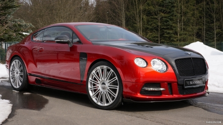 2013 Mansory Sanguis based on Bentley Continental GT - Red, Tuned, Car, Bentley, Mansory, Continental, Tuning, Sanguis